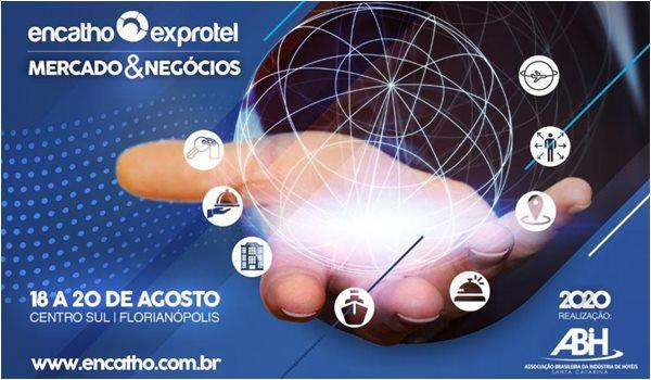 Sortimentos.com Media Partner do Encatho & Exprotel, encontro e feira da indústria de hotéis realizado pela ABIH-SC